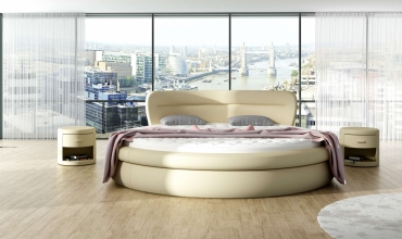 Łóżka okrągłe